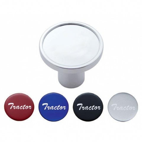 Air Valve Knob with Glossy Sticker - Tractor