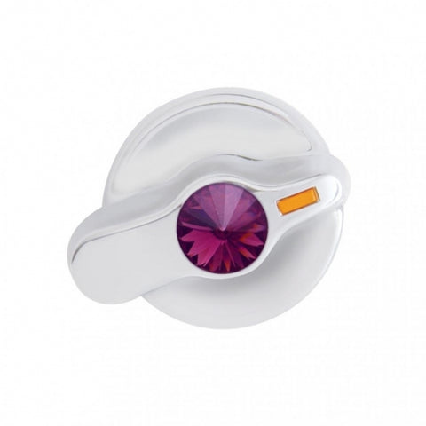 International Signature A/C Control Knob - Purple Diamond