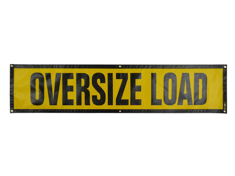 Grommet Oversize Load Sign