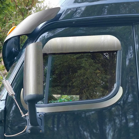 "Freightliner Cascadia 5"" Chop Top Window"