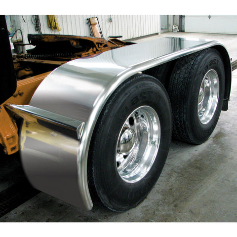 "142"" Smooth BOSS Full Fender (44""-54""-44"") - 14 Ga. (Fits tires with an outer diameter of 41 3/4"")"
