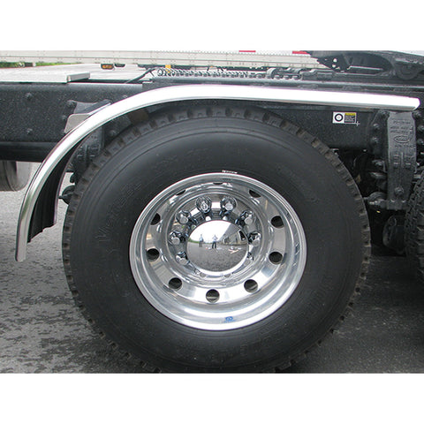 "66"" Fully Ribbed Half Fender with Rolled Edge (31"" - 35"") - 16 Ga."""