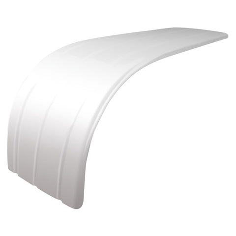 "72"" Fully Ribbed Half Fender with Rolled Edge (31""-41"") - 16 Ga."