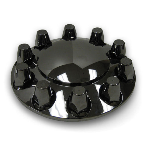 Black Chrome Hub Covers 33MM