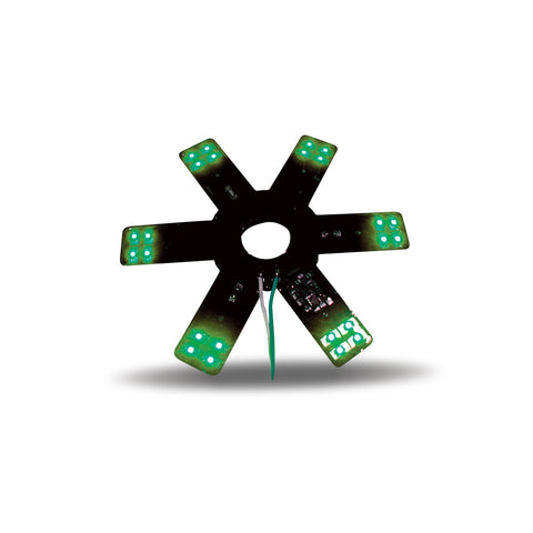 "8"" Star Green LED"