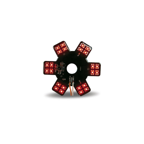 "5"" Star Red LED for 13"" Donald. Air Breather (24 Diodes)"