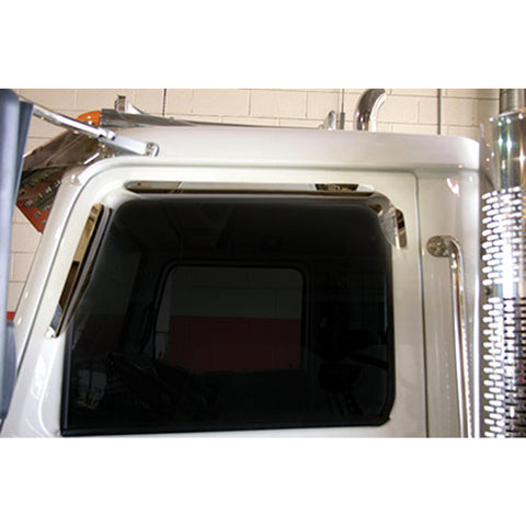 Western Star Window Deflector (Mirror on Cab) - All Models All Years