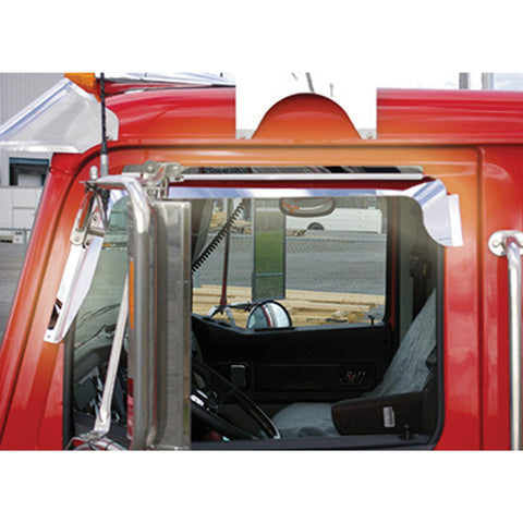 Western Star Window Deflector (Mirror on Door) - All Models All Years