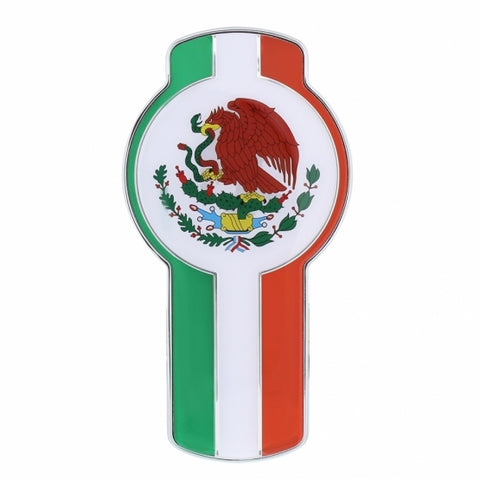 KW Small Chrome Emblem - Mexico Emblem