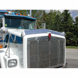 Stainless 1993-2006 Kenworth T800 Wide Hood and C500 Bug Deflector