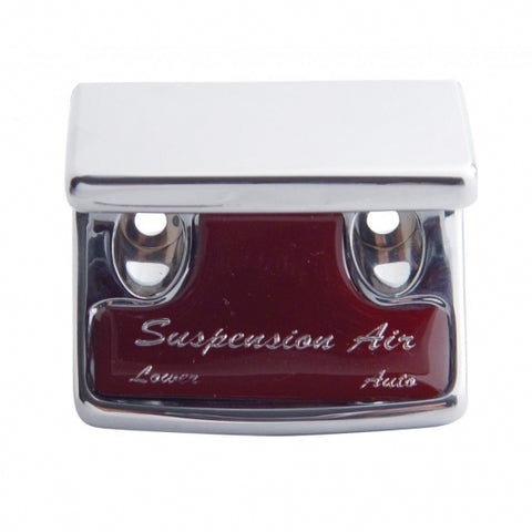 """Suspension Air"" Switch Guard - Red Sticker"