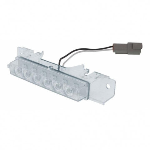 6 LED Volvo VNL Cab Light - Amber LED/Clear Lens