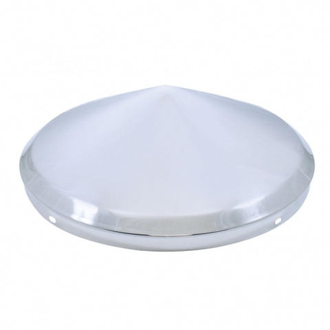 "No Notch Pointed Front Hub Cap - 1/2"" Lip"
