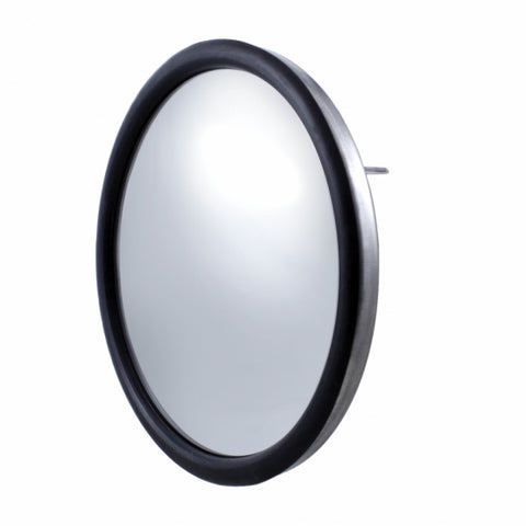 "Stainless 8 1/2"" Convex Mirror - Center Stud"
