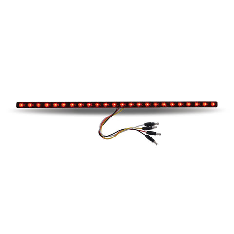 "17"" Dual Revolution Red/Blue LED Strip - Attaches with 3M Tape"