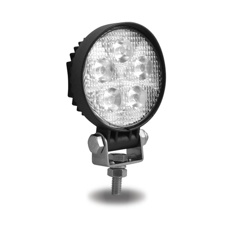 Mini Round LED Spot Worklight - 900 Lumens (5 Diodes)