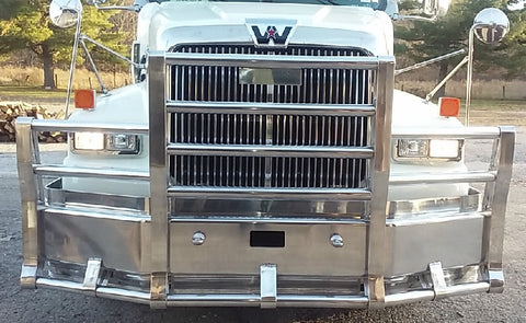 Western Star 4 Post Grill Guard With Skirting