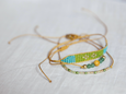 Ada Stacked Bracelet Set - Sun