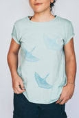 Fly Away Home Tee - Mint