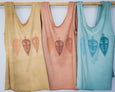 Thrive Together Tee - Peach, Sleeveless