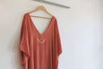 Kaş Kaftan - Peach, Long-Length