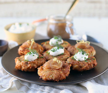 Crispy Latkes, Perfect, Simple