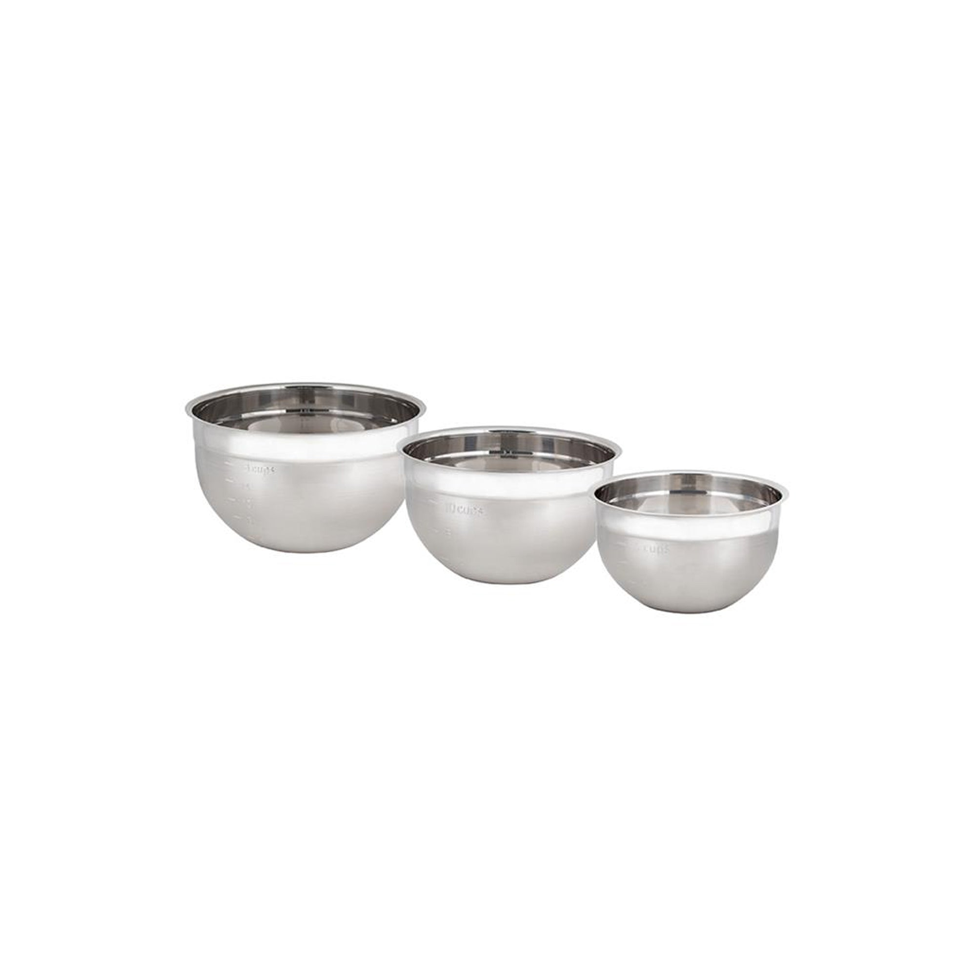 Stainless Steel Mixing Bowl - Set of 3
