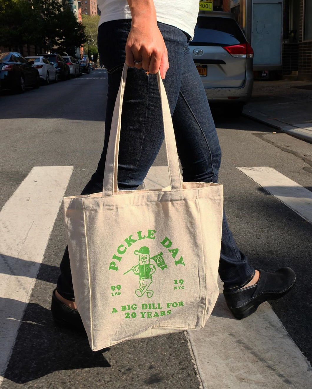 Pickle Day 20th Anniversary Tote Bag