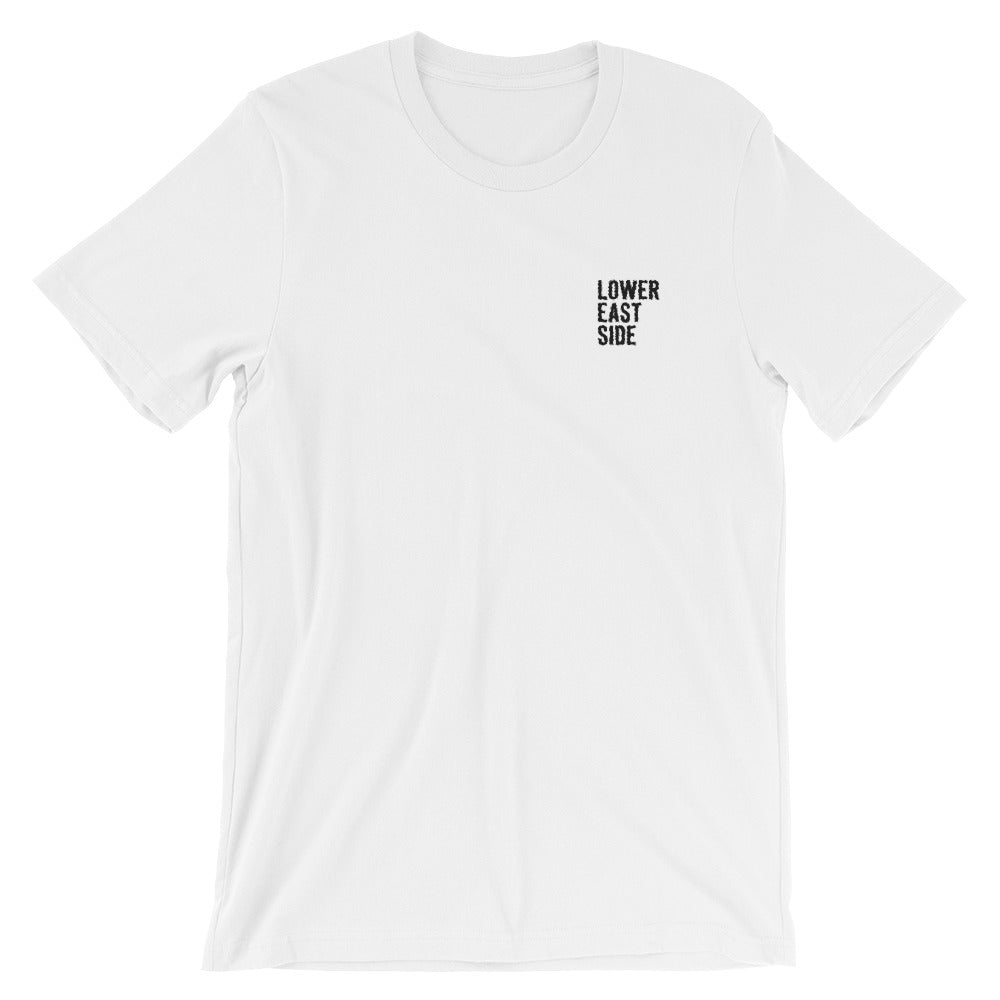 Embroidered LES Logo T-Shirt