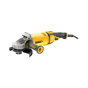 180mm 2.600W 8.500 rpm Embraiagem. Electrónica. Arranque suave. Bloqueio e re-arranque - DeWalt