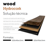 Hydrocork Wood Castle Raffia Oak
