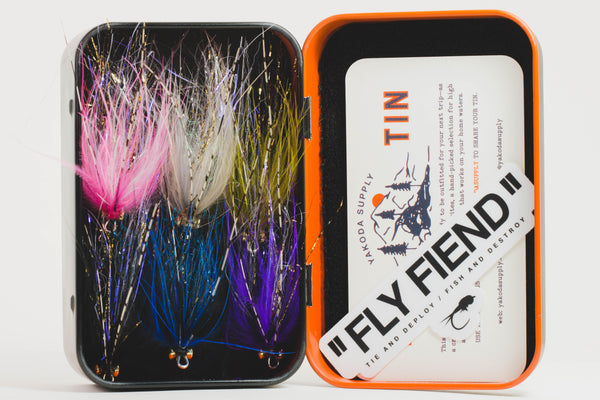 The Fly Fiend Grab N Go Swing Box