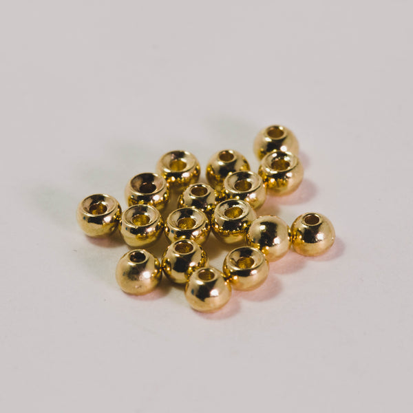 Frosty Fly Round Tungsten Beads