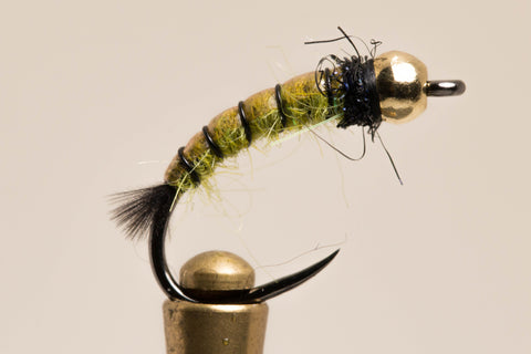Green Flip Caddis
