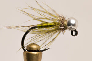Olive Wired Soft Hackle
