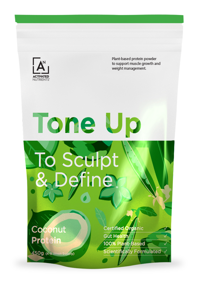 Tone Up Coconut Plant-Based Protein