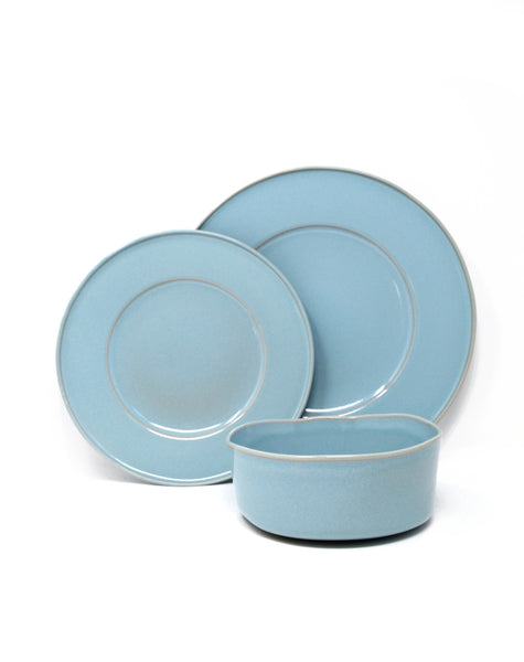 Oak Hall Robin's Egg Blue 12 Piece Set