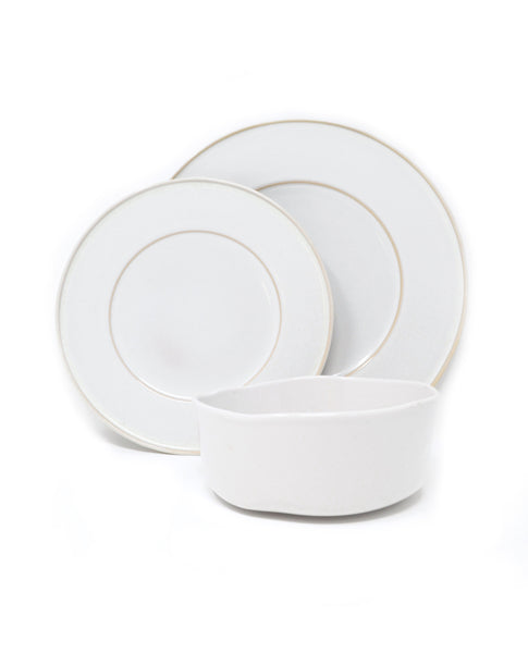 Oak Hall White 12 Piece Set