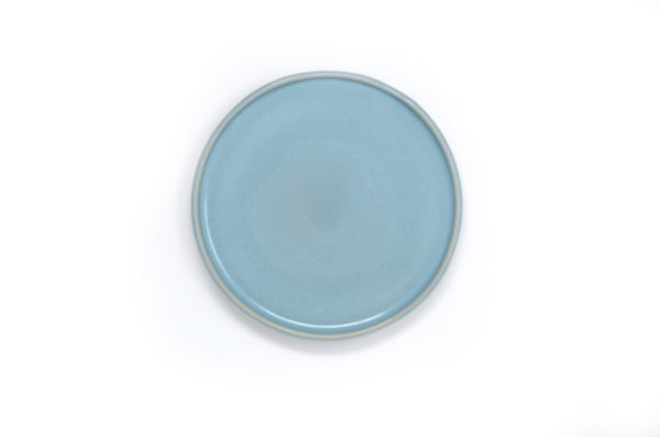 Oak Hall Robin's Egg Blue Appetizer Plate