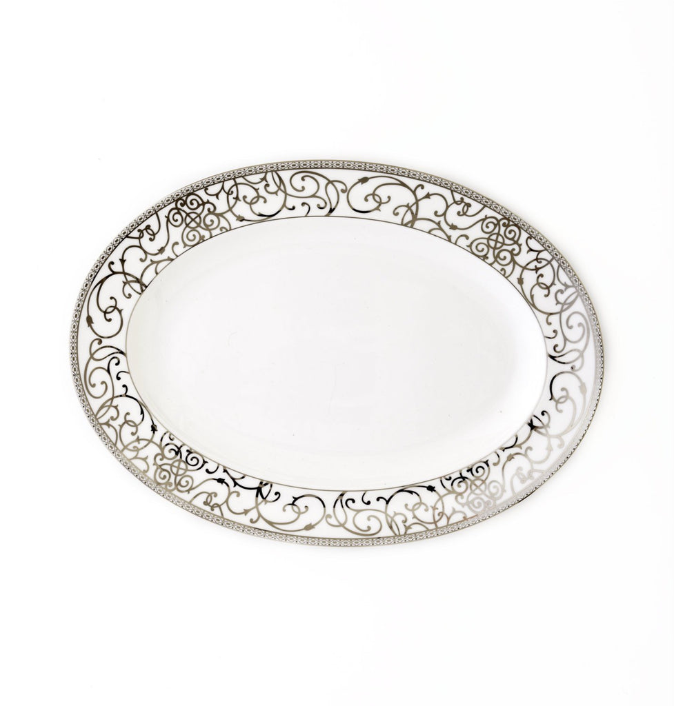 Oval Platter-Athena Platinum Collection