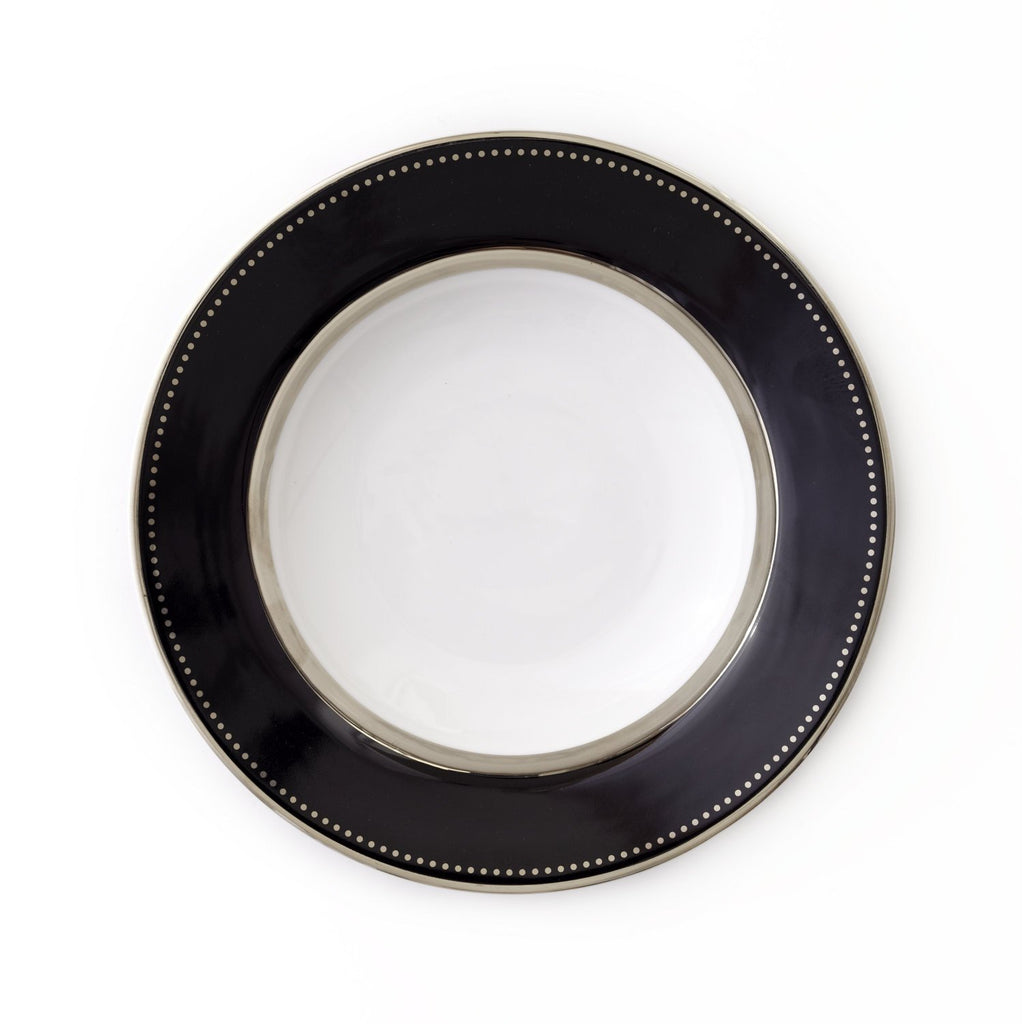 Round Platter-Black Luxe Collection