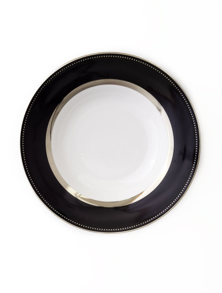 Serving Bowl-Black Luxe Collection