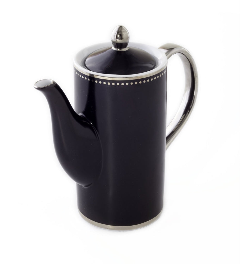 Teapot-Black Luxe Collection