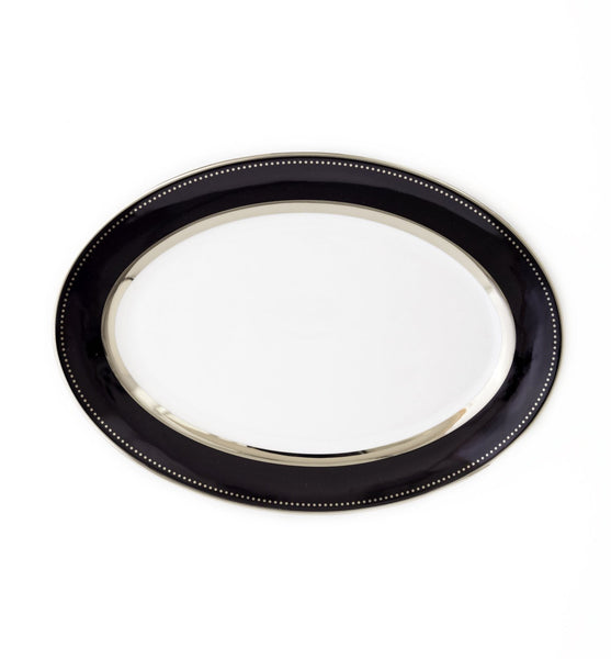Oval Platter-Black Luxe Collection