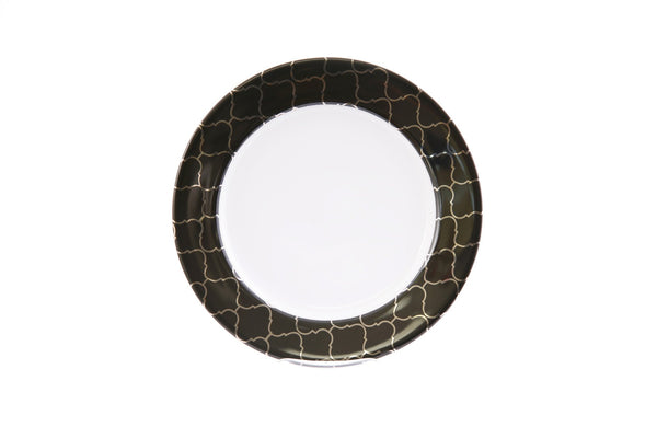 Accent Salad Plate-Black Luxe Collection