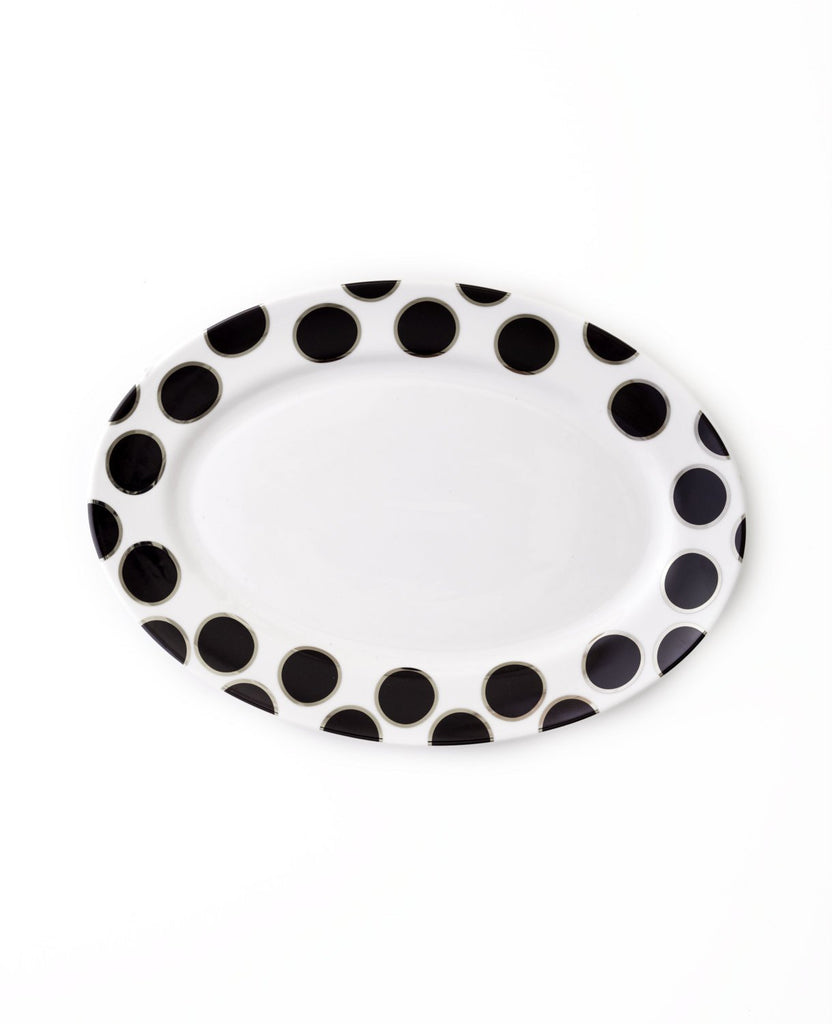 Oval Platter-Black Pearl Collection