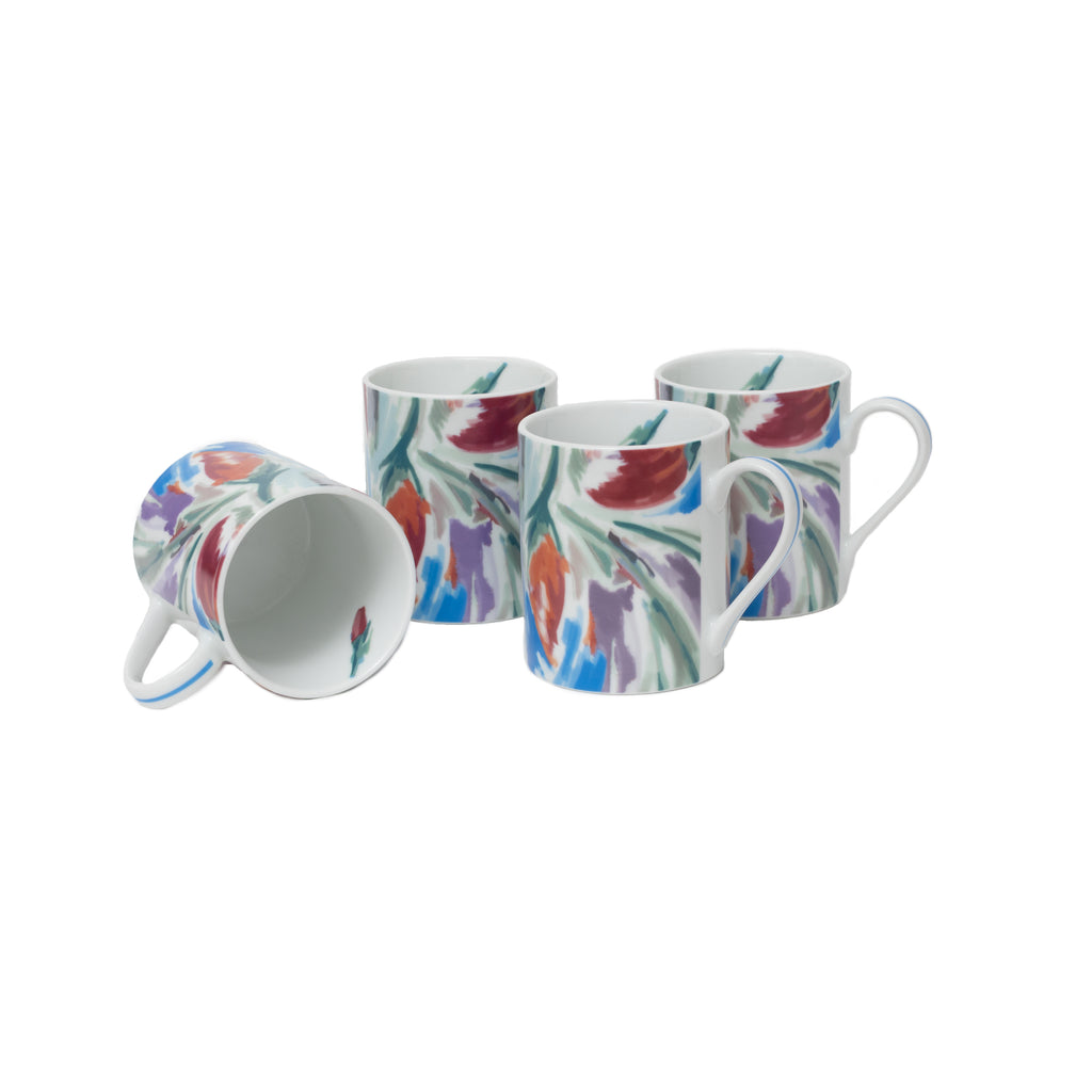 Crazy Love  Set of 4 Mugs
