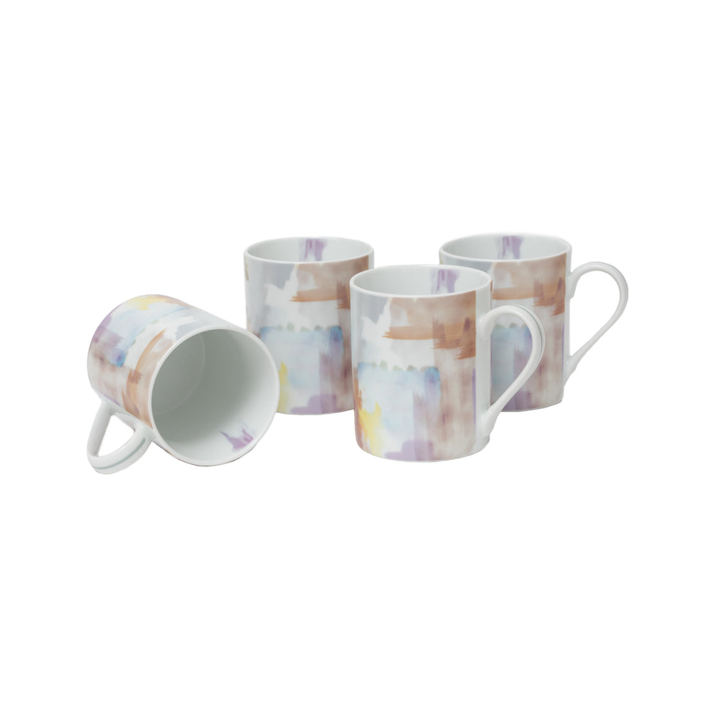 Afterglow Autumn Set of 4 Mugs