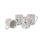 You Make Me Blush Set of 4 Mugs