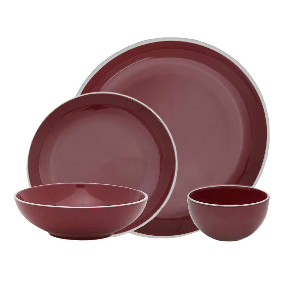 Potter's Wheel Berry 16 Piece Set